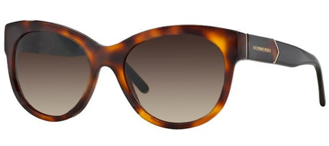 Burberry BE4156 (Havana frame / Brown Gradient lenses)