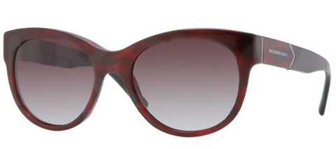 Burberry BE4156 (Red Havana frame / Grey Gradient lenses)