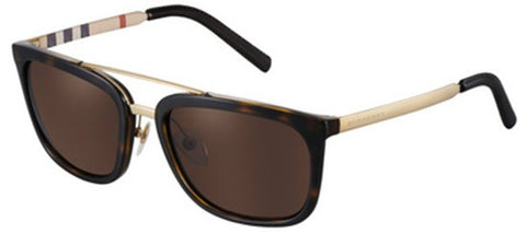 Burberry BE4167Q (Havana frame / Brown lenses)