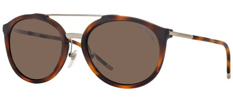 Burberry BE4177 (Matte Light Havana frame / Brown lenses)
