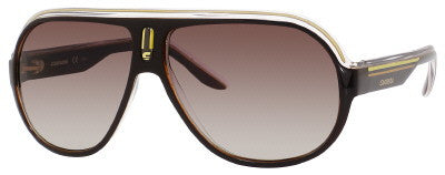 Carrera Speedway/S (Brown Crystal Yellow frame / Brown Gray Gradient lenses)