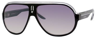 Carrera Speedway/S (Black Crystal Silver frame / Gray Mirror Shaded Silver lenses)