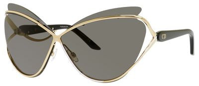 Dior Audacieuse 1/S (Gold frame / Gray lenses)