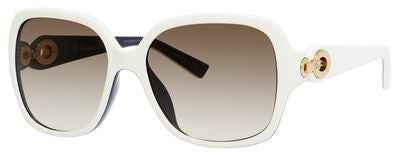 Dior Diorissimo 1/N/S (Ivory & Blue frame / Brown Gradient lenses)