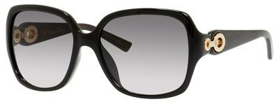 Dior Diorissimo 1/N/S (Black & Brown frame / Gray Gradient lenses)