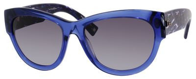 Dior Flanelle 1/S (Transparent Blue frame / Gray Gradient lenses)