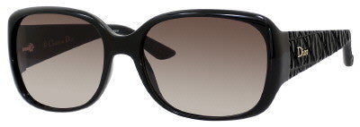 Dior Frisson 2/S (Shiny Black frame / Brown Gradient lenses)