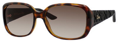 Dior Frisson 2/S (Havana frame / Brown Gradient lenses)