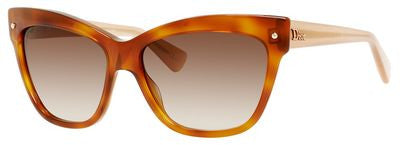 Dior Jupon 2/S (Light Havana frame / Brown Violet Shaded lenses)