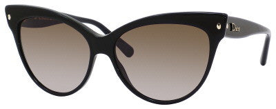 Dior Mohotani/S (Shiny Black frame / Brown Gradient lenses)