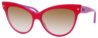 Dior Mohotani/S (Red Mother of Pearl Fuchsia frame / Brown Mirror Gold Shaded lenses)