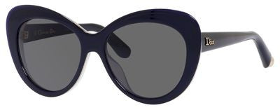 Dior Promesse 1/S (Transparent Blue White frame / Gray lenses)