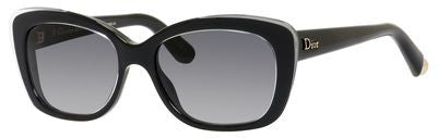 Dior Promesse 3/S (Crystal & Black front / Gray Gradient lenses)