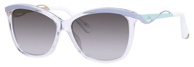 Dior Metaleyes 2/S (Crystal Light Blue frame / Brown Silver lenses)