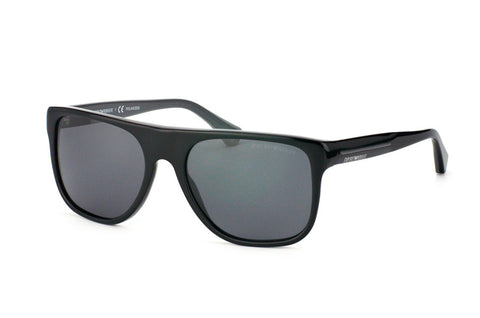Emporio Armani EA4014F (Top Black on Grey frame / Polarized Grey lenses)