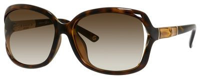 Gucci 3685/F/S (Havana - Gold frame / Brown Gradient lenses)