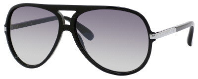 Marc by Marc Jacobs MMJ 276/S (Shiny Black frame / Grey Mirror Shaded Silver lenses)
