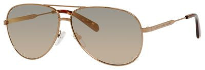 Marc by Marc Jacobs MMJ 444/S (Gold-Copper frame / Gray Rose Gold lenses)