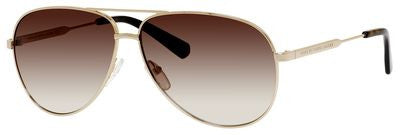 Marc by Marc Jacobs MMJ 444/S (Gold frame /  Brown Gradient lenses)