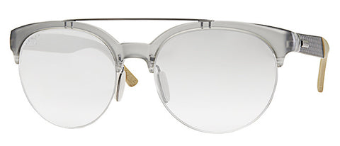 Gucci 1069/S (Transparent Gray frame / Gray Mirror Gradient lenses)