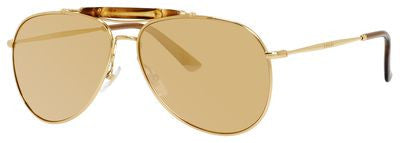 Gucci 2235/N/S (Middle Gold frame / Gold Mirror 24k lenses)