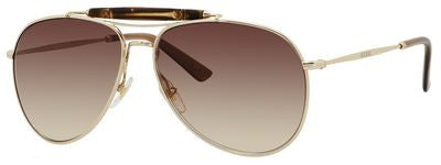 Gucci 2235/S (Gold frame / Brown Gradient lenses)