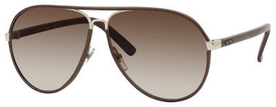 Gucci 2887/S (Dark Chocolate Leather frame / Brown Gradient lenses)