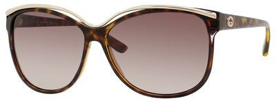 Gucci 3155/S (Havana frame / Brown Gradient lenses)