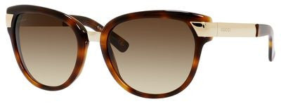 Gucci 3651/S (Havana frame / Brown Gradient lenses)