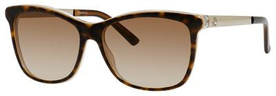 Gucci 3675/S (Havana Embossed frame / Brown Gradient lenses)