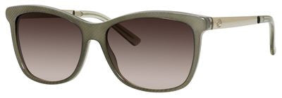 Gucci 3675/S (Sage Embossed frame / Brown Gradient lens)