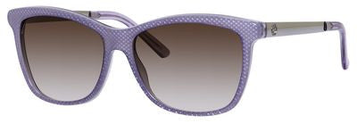 Gucci 3675/S (Lilac Embossed frame / Brown Gradient lenses)
