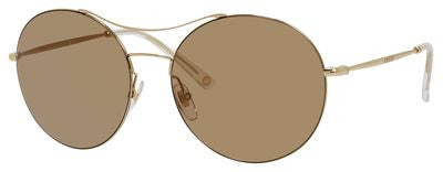 Gucci 4252/S (Gold frame / Brown Mirror lenses)