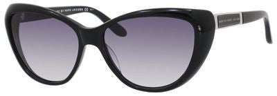 Marc by Marc Jacobs MMJ 366/S (Shiny Black frame / Gray Gradient lenses)