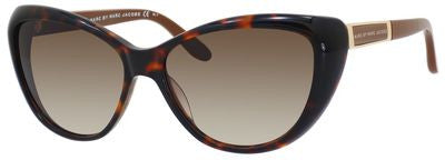 Marc by Marc Jacobs MMJ 366/S (Havana frame / Brown Gradient lenses)