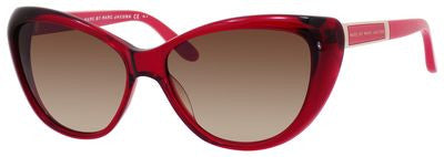 Marc by Marc Jacobs MMJ 366/S (Burgundy Opal frame / Brown Gradient lenses)