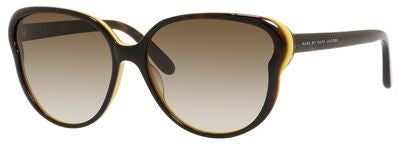 Marc by Marc Jacobs MMJ 369/S (Havana Orange frame / Brown Gradient lenses)