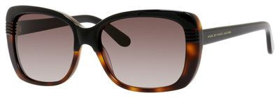 Marc by Marc Jacobs MMJ 392/S (Black Dark Tortoise frame / Brown Gradient lenses)