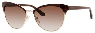 Marc by Marc Jacobs MMJ 398/S (Red Gold frame / Brown Gradient lenses)