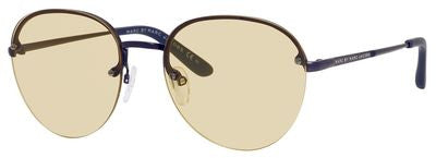 Marc by Marc Jacobs MMJ 414/S (Matte Blue frame / Clear Mirror lenses)