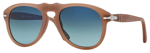 Persol PO0649 Ambra (Brown frame / Polarized Blue Gradient lenses)