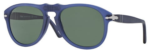 Persol PO0649 Cobalto (Blue frame / Polarized Green lenses)
