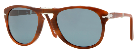 Persol PO0714 (Brown frame / Photo-polarized Blue Internal Anti-glare lenses)