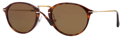 Persol PO3046S (Havana frame / Crystal Brown Polarized lenses)