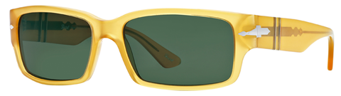 Persol PO3087S (Yellow frame / Crystal Green lenses)