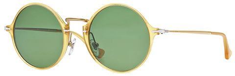 Persol PO3091SM (Yellow Transparent frame / Polarized Green Anti-glare lenses)