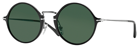 Persol PO3091SM (Black frame / Green Polarized lenses)