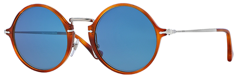 Persol PO3091SM (Light Havana frame / Blue Internal Anti-glare lenses)