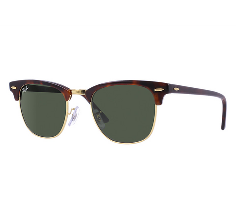 Clubmaster Classic (Tortoise/Green Classic G-15) [IN STOCK - NEXT DAY DELIVERY]