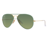 Ray-Ban RB3025JM Full Color Green